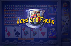 Aces & Faces 25 Linee Video Poker Video Poker Game
