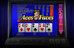 Aces & Faces Video Poker Video Poker Game