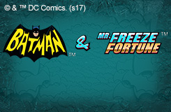 Batman & Mr. Freeze Fortune Slots Jackpots New Games Game