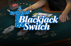 Blackjack Switch Card Card Table Game