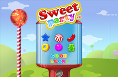 Sweet Party Slots Jackpots Game