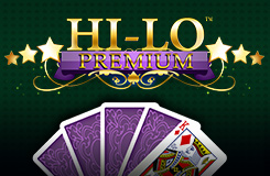 Hi-Lo Premium New Games Table Game