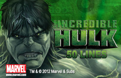 The Incredible Hulk - 50 lines Slots Jackpots Game