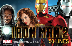 Iron Man 2 - 50 lines Slots Jackpots Game