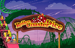 Rollercoaster Dice Arcade Game