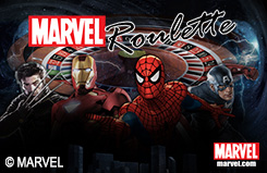 Marvel Roulette Table Table Table Game