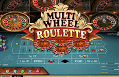 Multi-wheel Roulette Table Table Game