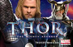 Thor - The Mighty Avengers Slots Movie Slots New Games Game