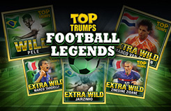 Top Trumps Football Legends Slots Game