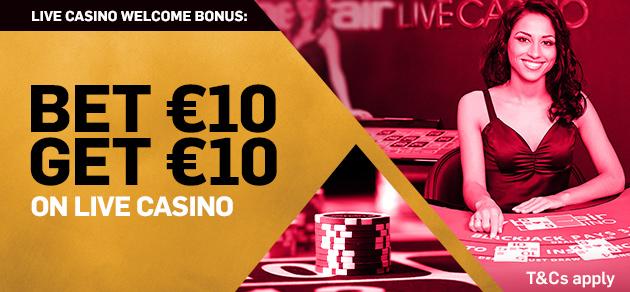 Betfair live casino bonus how to win at casino roulette